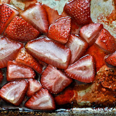 Roasted Strawberry Brown Butter Pancakes