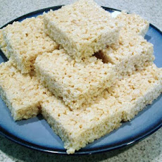Vanilla Almond Rice Krispies Treats