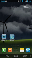 Screenshot of RainStorm  3D  LiveWallpaper