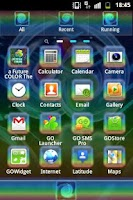Screenshot of Color Theme GO Launcher EX