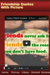 Friendship Quotes With Picture - screenshot