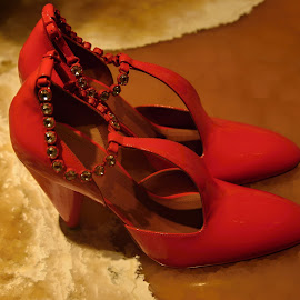 A gift for my wife´s birthday. by Marcel Cintalan - Artistic Objects Clothing & Accessories ( fashion, gift, red shoes, birthda,  )
