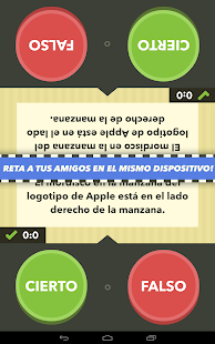 Cierto o falso, saber es ganar APK for Bluestacks