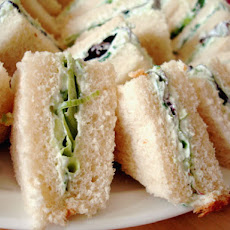 Cucumber Cream Cheese Sandwich Spread