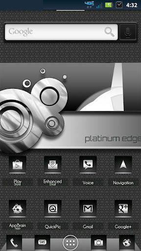 ADW Theme PlatinumEdge