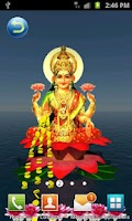 Screenshot of Laxmi Pooja 3D Live Wallpaper