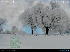 Screenshot of Nature Live Weather LWP