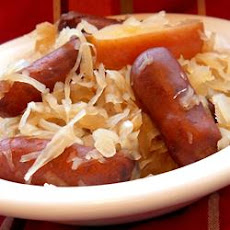 Sauerkraut and Smokies
