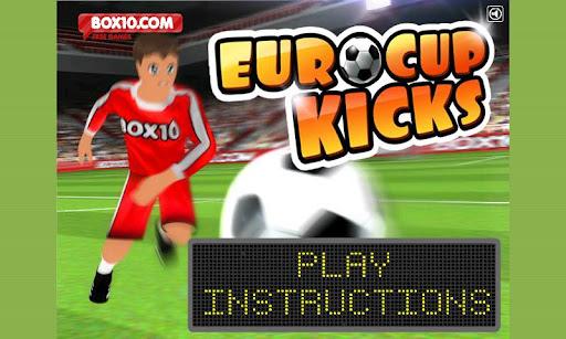 ユーロカップは 2012年を蹴る