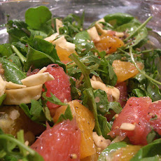 Grapefruit, Ham, and Spinach Salad