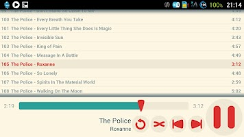Screenshot of NanoMusic Free