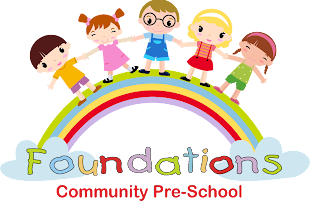 Foundations Community Pre-School Logo