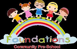 Foundations Community Pre-School Logo