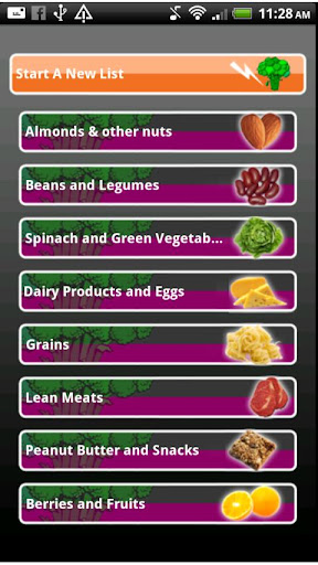 Super Foods Shopping List