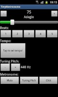 Screenshot of Tiny Metronome