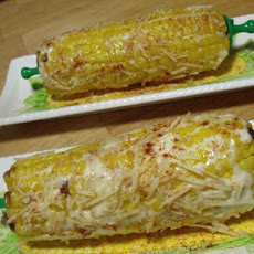 Mexican Style (Spicy) Corn on the Cob