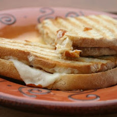 Slow Cooker Tuscan Chicken Panini