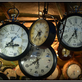 Antique clocks  by Prasanta Das - Artistic Objects Antiques ( clocks, antique, sale )