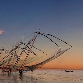 ColoringTheNature by Shafeeq Basheer - Landscapes Sunsets & Sunrises ( #sunset #fortcochin #landscape #streetphotography )