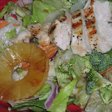 Asian-Style Grilled Chicken Salad