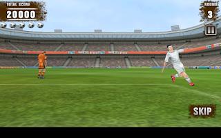Screenshot of Football Kicks