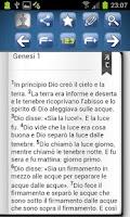Screenshot of La Sacra Bibbia CEI - GRATIS