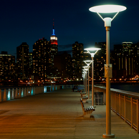 To the Skyline by Rob Kovacs - Novices Only Landscapes ( , city at night, street at night, park at night, nightlife, night life, nighttime in the city )