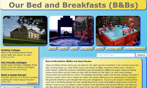 Our Bed and Breakfasts B Bs