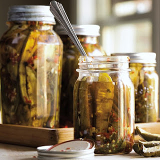 Grilled Sweet & Spicy Pickles