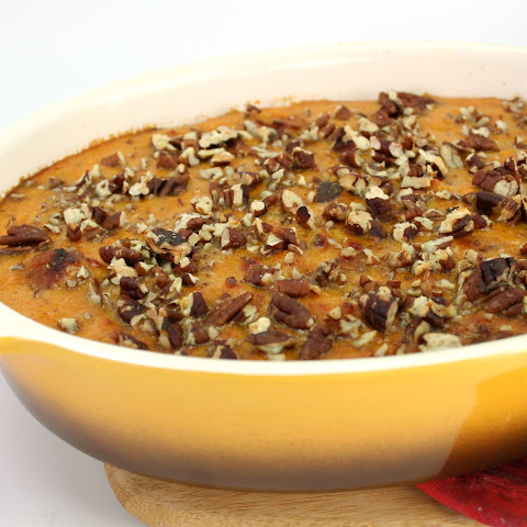 Zesty Sweet Potato Casserole with Andouille Sausage