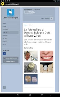 Dentisti Bologna - screenshot