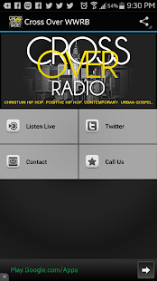 Cross Over Radio - screenshot