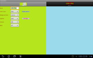 Screenshot of LimoLetters