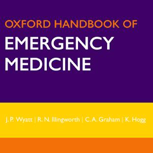 Cover art Oxford Handbook Emerg Med 4 Ed