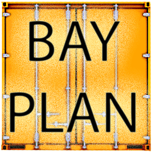 Ships Container Bayplan