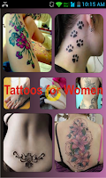 Screenshot of Tattoos for Women