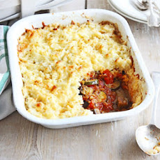 Veg & Cheesy Rice Bake