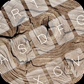 Wood Keyboard Theme Emoji APK for Lenovo