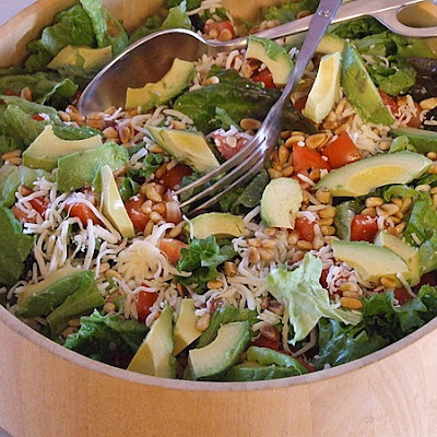 Avocado- Pine Nut Salad