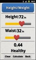Screenshot of FitCalc Pro: Health Calculator