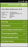 Screenshot of BusinessCheck