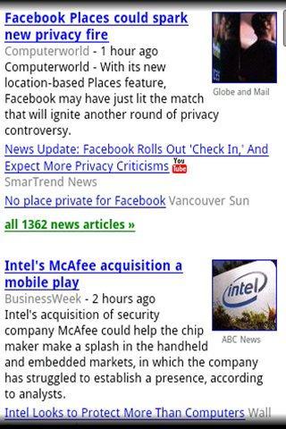 Google tech news.