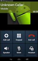 Screenshot of Fake-A-Call Free