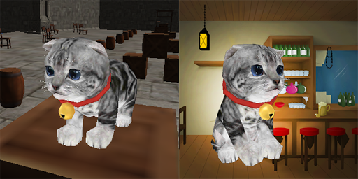 3D Cat simulator - screenshot