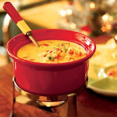 Cheese Dip with Crawfish