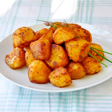 Barbeque Spiced Roasted Potato Nuggets