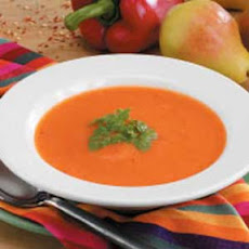 Creamy Red Pepper Soup