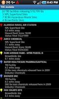 Screenshot of TRI mobile