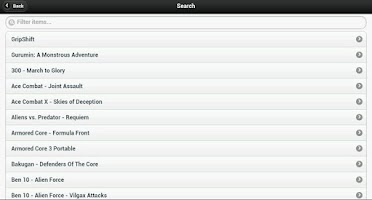Screenshot of PSP Cheat Codes
