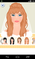 Screenshot of bride hair games